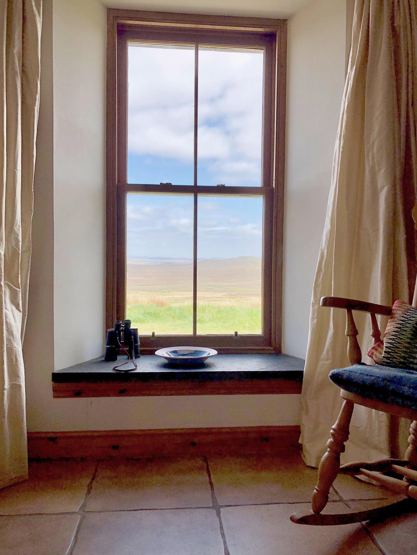 Skye window view